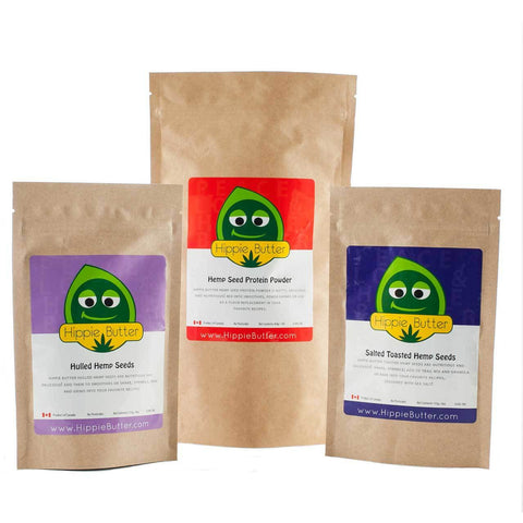 Hippie Butter Hemp Seed Food Bundle