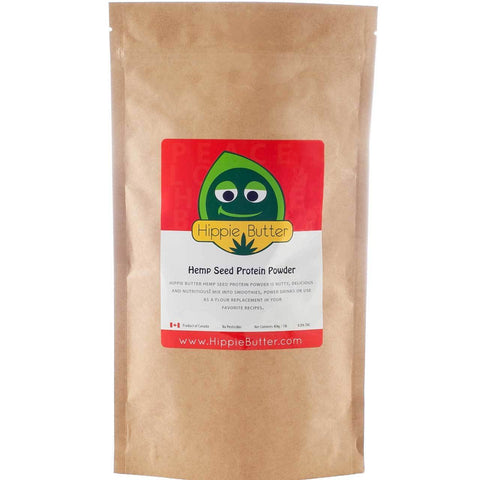 Hippie Butter Hemp Seed Protein Powder by the Case