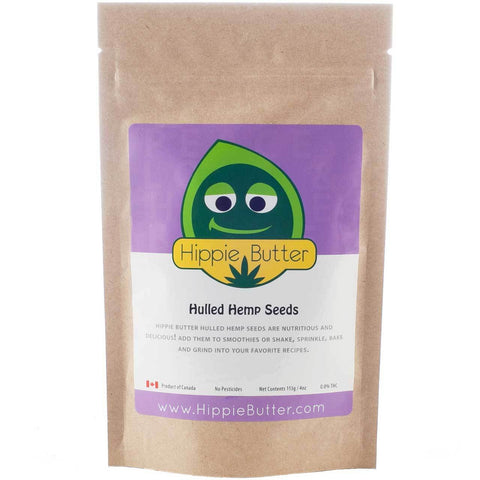 Hippie Butter Hulled Hemp Seeds