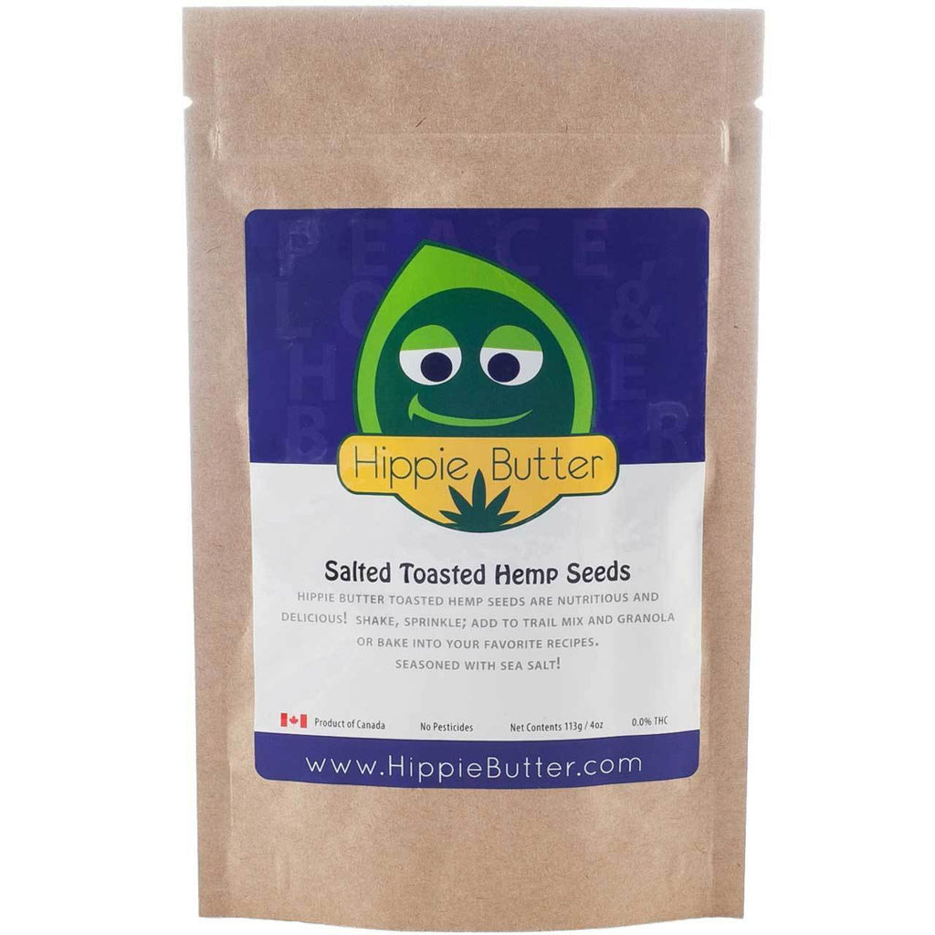 Hippie Butter Salted Toasted Hemp Seeds by the Case