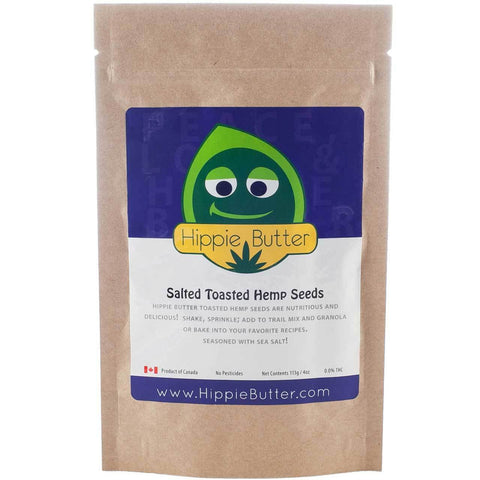 Hippie Butter Salted Toasted Hemp Seeds