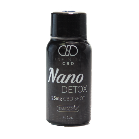 Infinite CBD NANO CBD Shots - NANO Detox, NANO Energy, or NANO Rest