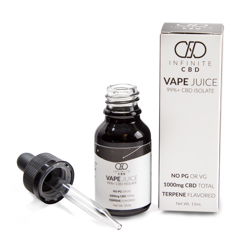 Infinite CBD Vape Juice 99%+ CBD Isolate