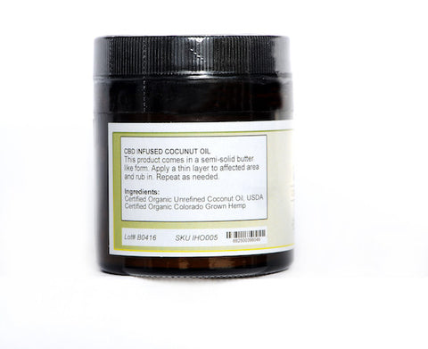 Iron Horse Organics Concentrated Rescue Rub 500mg