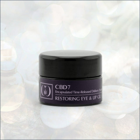 Isodiol CannaCeuticals CBD7 Restoring Eye and Lip Gel