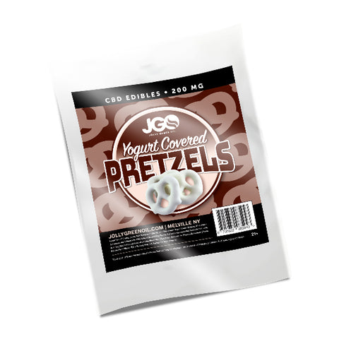 JGO CBD Yogurt Covered Pretzels - 200mg