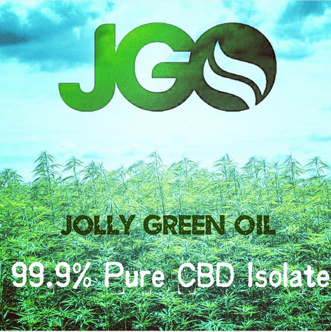 JGO 99.9% Pure CBD Isolate