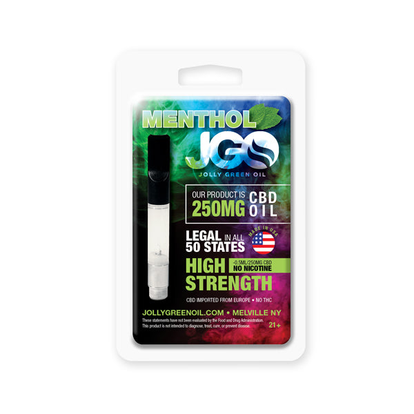 JGO CBD Vape Cartridge - 250mg