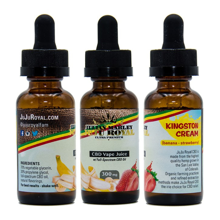 Julian Marley JuJu Royal CBD Vape Oil 30ml