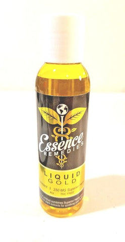 Essence Remedies Liquid Gold Liniment Soothing Massage and Bath Oil