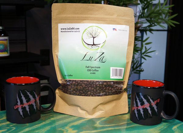 LuZa Oil CBD Coffee