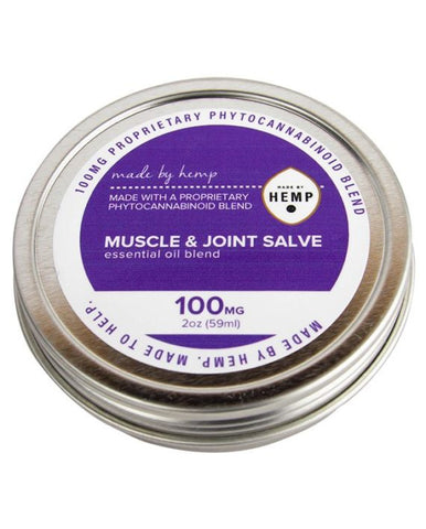 Made by Hemp Muscle and Joint Salve 100mg CBD