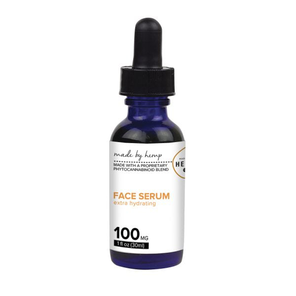 Made by Hemp Hydrating Hemp Face Serum 1oz 100mg CBD