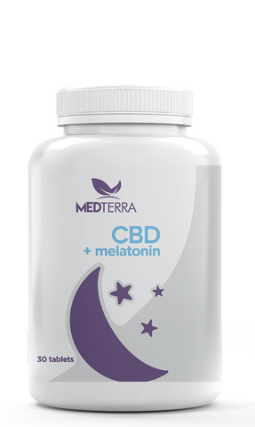 Medterra Medoil Dissolvable CBD Sleep Tablets