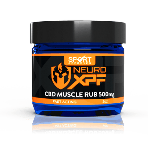 Neuro XPF CBD Muscle Rub - 500mg or 1000mg