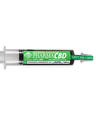 Pharma Hemp 25% Pure Hemp CBD Gold Oil
