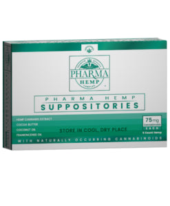 PharmaHemp CBD: Hemp CBD Suppository 25mg and 75mg