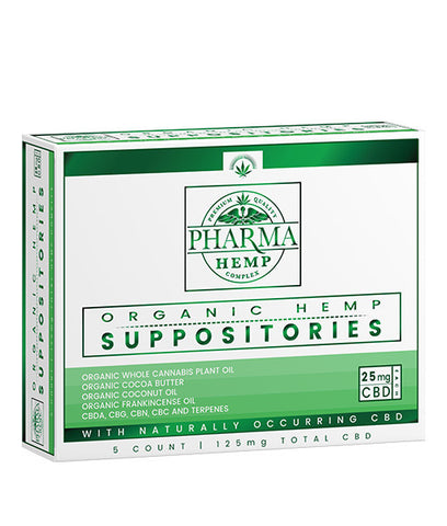 Pharma Hemp: Hemp CBD Suppository