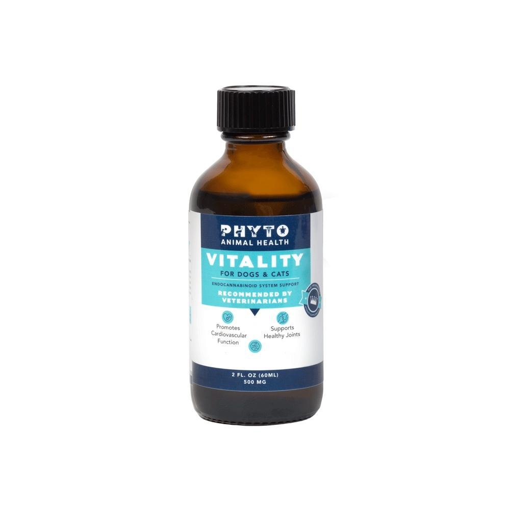 Phyto Animal Health: Pet Vitality - 1oz (100mg), 2oz (500mg) or 4oz (1000mg)