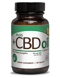 Plus CBD Oil - CBD Oil Capsules 10mg and 15mg CBD