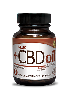 Plus CBD Oil Softgels - Raw