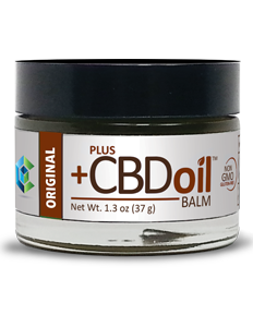 Plus CBD Oil Hemp Balm 1.3oz 50mg and 100mg CBD