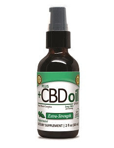 Plus CBD Oil CBD Spray Extra Virgin Olive Oil (EVOO) - 100mg and 500mg