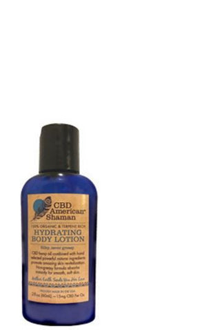 CBD American Shaman - Hydrating Body Lotion