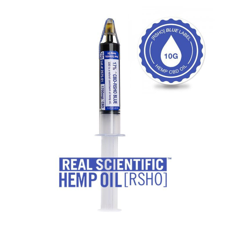 Real Scientific Hemp Oil 1700mg Blue Label 10g - 1 Tube, 3 Pack, or 6 Pack