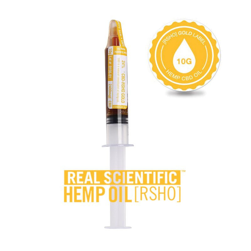 Real Scientific Hemp Oil 2400mg Gold Label 10g - 1 Tube, 3 Pack or 6 Pack