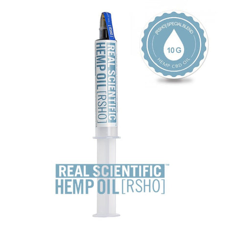 Real Scientific Hemp Oil 3800mg Special Blend 10g - 1 Tube, 3 Pack, or 6 Pack