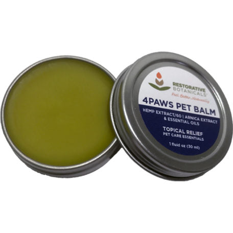 Restorative Botanicals 4Paws PET Hemp Extract Topical Relief Balm - 60mg