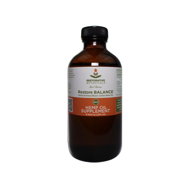 Restorative Botanicals Restore BALANCE Hemp Oil Extract