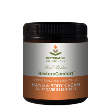 Restorative Botanicals Restore Comfort Hand and Body Cream