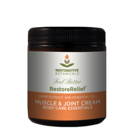 Restorative Botanicals Restore Relief Muscle and Joint Cream