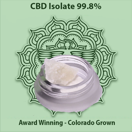 Sacred Body CBD Sacred Oil 99.8% CBD Isolate