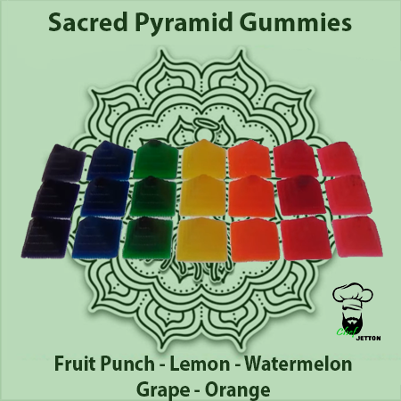 Sacred Body CBD Sacred Pyramid Gummies 100mg