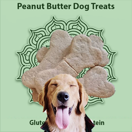 Sacred Body CBD Peanut Butter Dog Treats 100mg