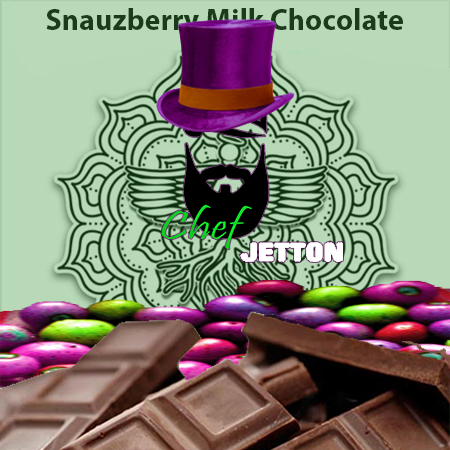 Sacred Body CBD Snauzberry Milk Chocolate Bar 100mg