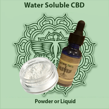 Sacred Body CBD Water Soluble CBD