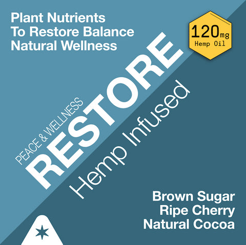 Strava Craft Coffee:  Peace and Wellness RESTORE Coffee - Infused with 4X Plant Nutrients 120mg CBD