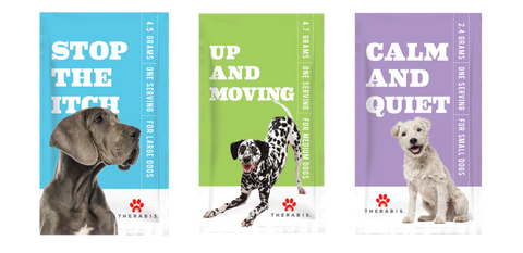 Therabis: Hemp Oil for Pets - Calm and Quiet, Stop the Itch and Up and Moving