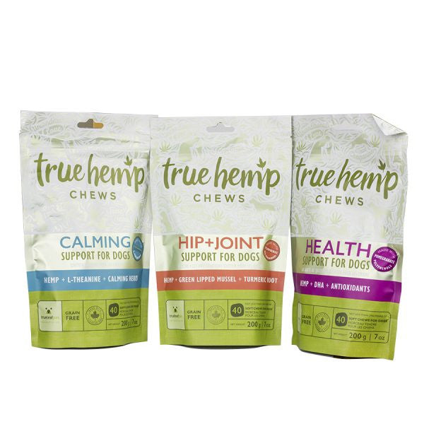 True Leaf Pet: True Hemp Chews for Dogs - Calming, Health, and Hip and Joint