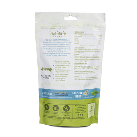 True Hemp Chews for Dogs - Calming, Hip and Joint