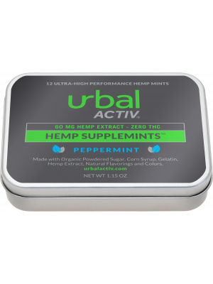Urbal Activ Hemp Extract 60mg Mints