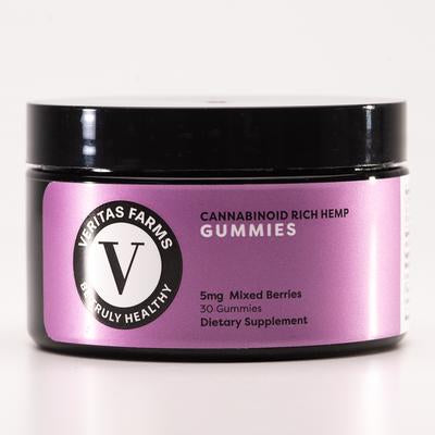 Veritas Farms CBD Gummies - Natural or with Melatonin