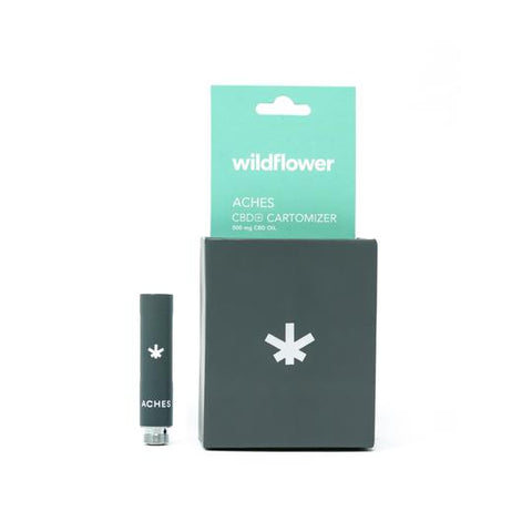Wildflower CBD+ ACHES Cartomizer - 150mg CBD