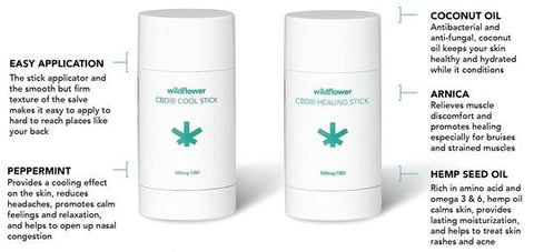 Wildflower CBD+ Healing Stick