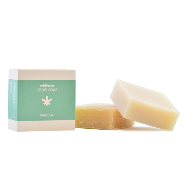 Wildflower CBD+ Soap - Pack of 3