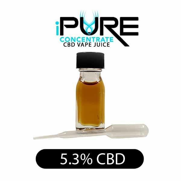 iPure Concentrate CBD Vape Oil